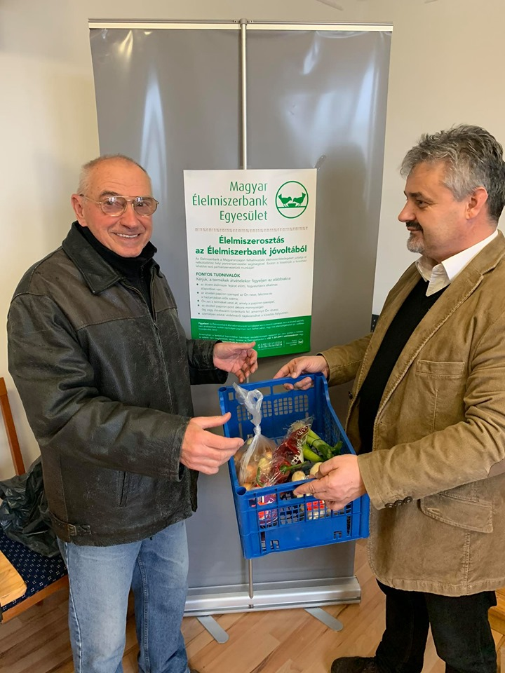 Diakóniai együttműködés a Magyar Élelmiszerbank Egyesülettel és az Aldi-val